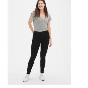 GAP Jeans - NWT Gap Sculpt Mid Rise Skinny Jeans 8S Black c83